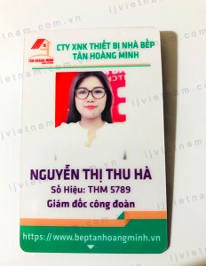 Thẻ nhựa 012