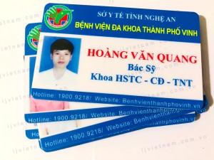 Thẻ nhựa 015